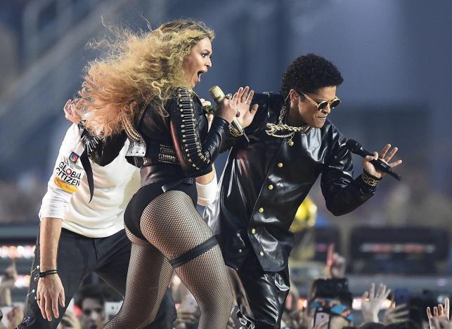 Bruno Mars i Beyoncé na Super Bowl 2016