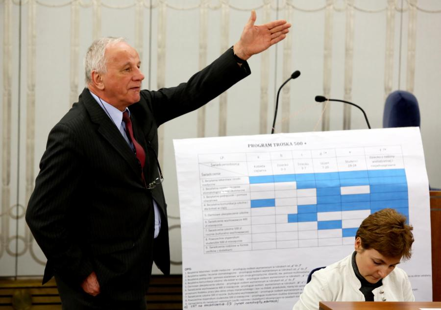 Senator Platformy Obywatelskiej Jan Rulewski