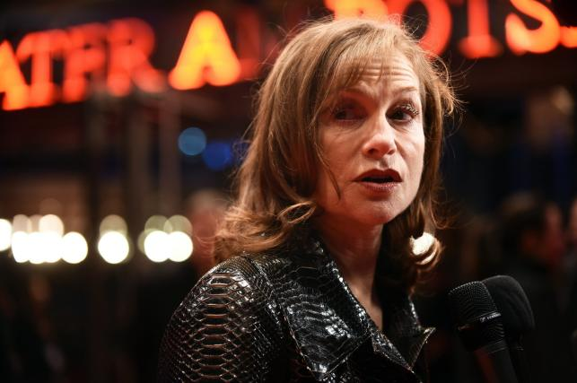 """Isabelle Huppert na premierze filmu """"L'Avenir"""" (""""Things to Come"""")"""