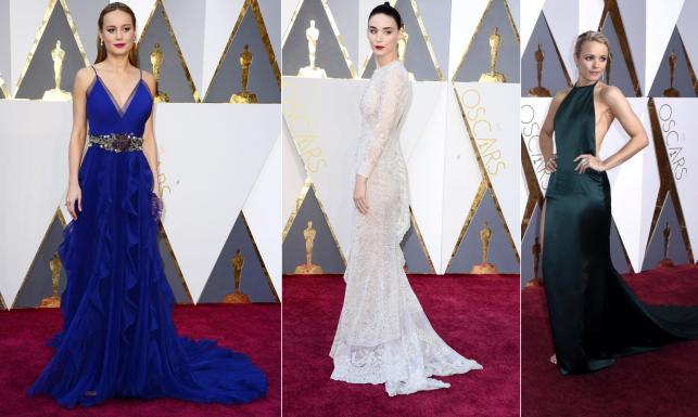 Rooney Mara na biało, ale wygrały kolory. Suknie na gali rozdania Oscarów 2016