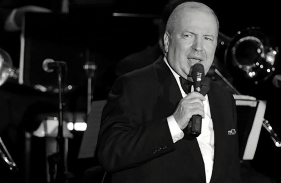 Frank Sinatra Jr. i jego  big band podczas koncertu \