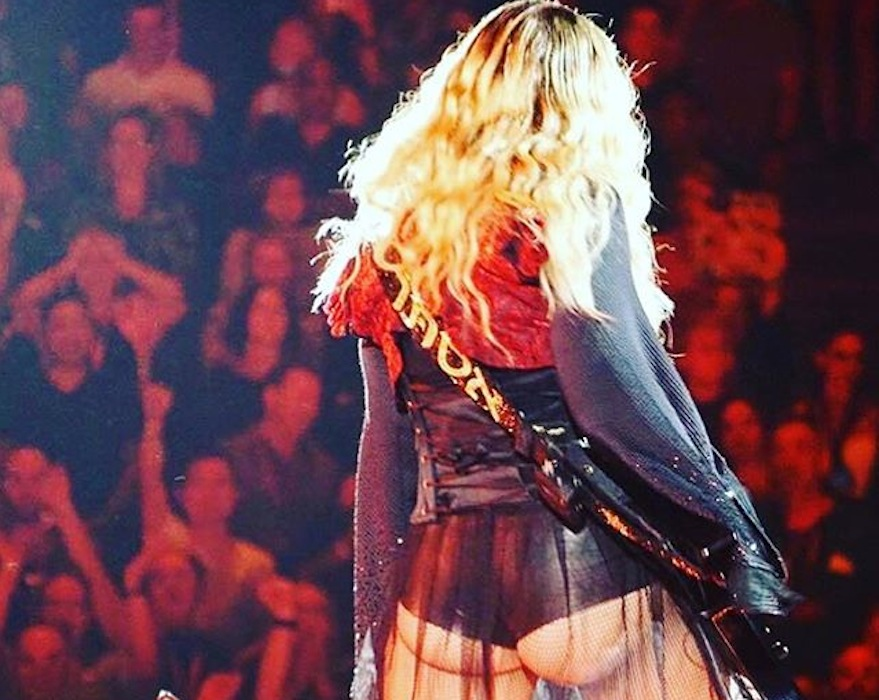 Kolejny koncert, kolejny skandal... Madonna znów szokuje