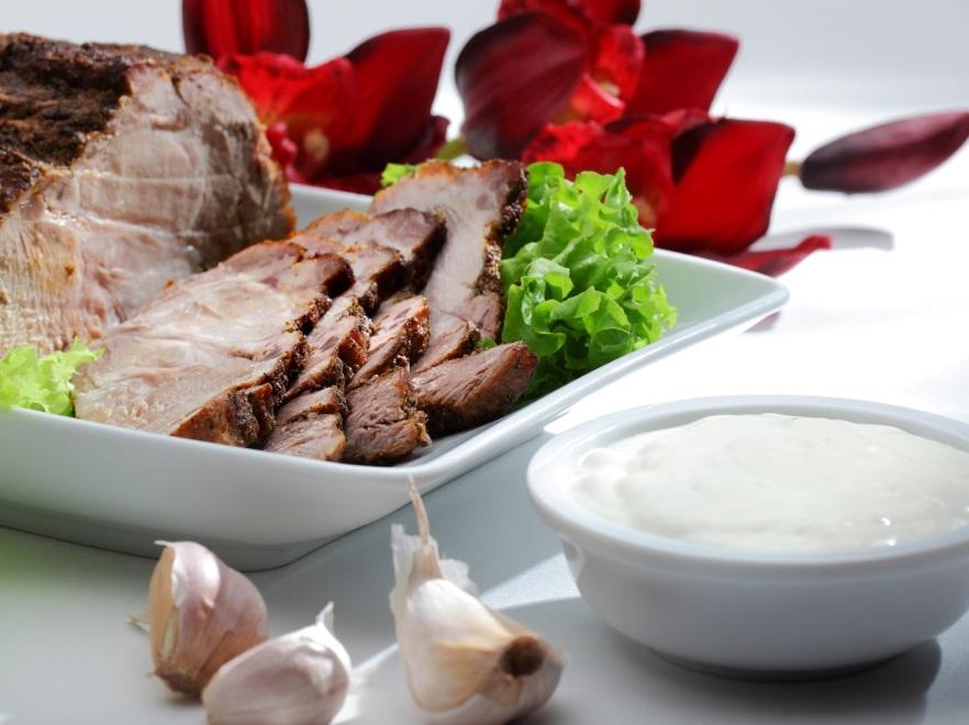 Mięso z chrzanem
