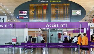 Terminal lotniska Roissy Charles de Gaulle