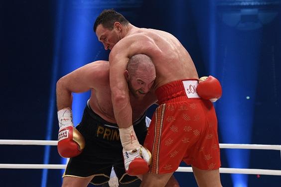 Władimri Kliczko i Tyson Fury