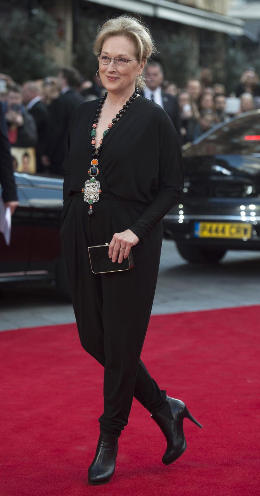 """Meryl Streep na premierze """"Boskiej Florence"""""""