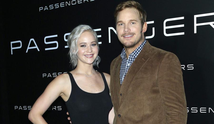 "Jennifer Lawrence i Chris Pratt promowali film ""Passengers"""