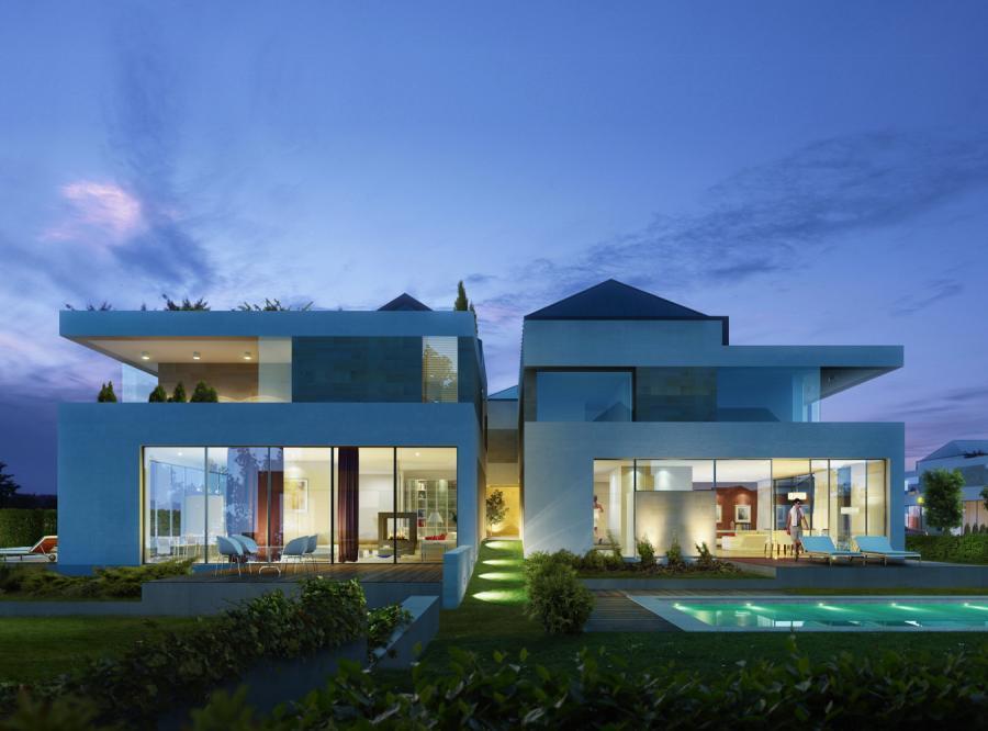 Wizualizacja domów