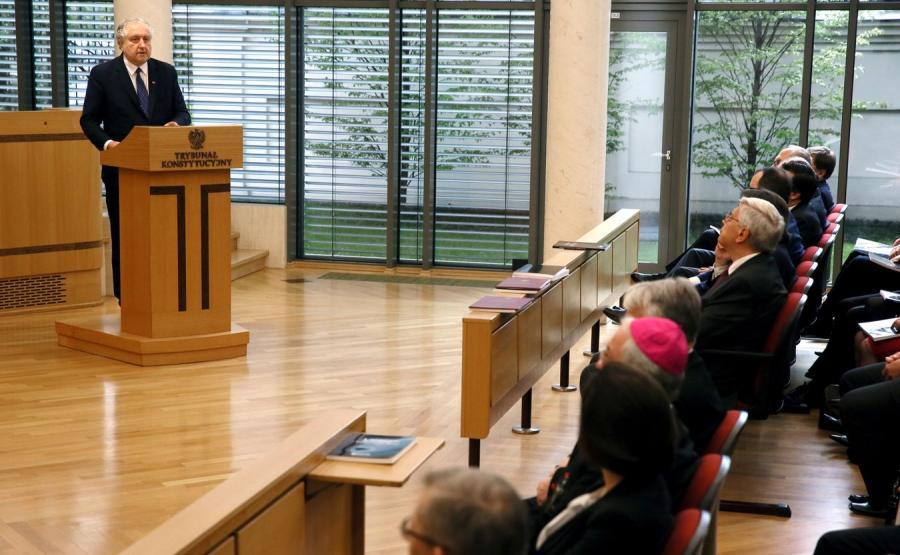 Wystąpienie Andrzeja Rzeplińskiego podczas Zgromadzenia Ogólnego Sędziów TK