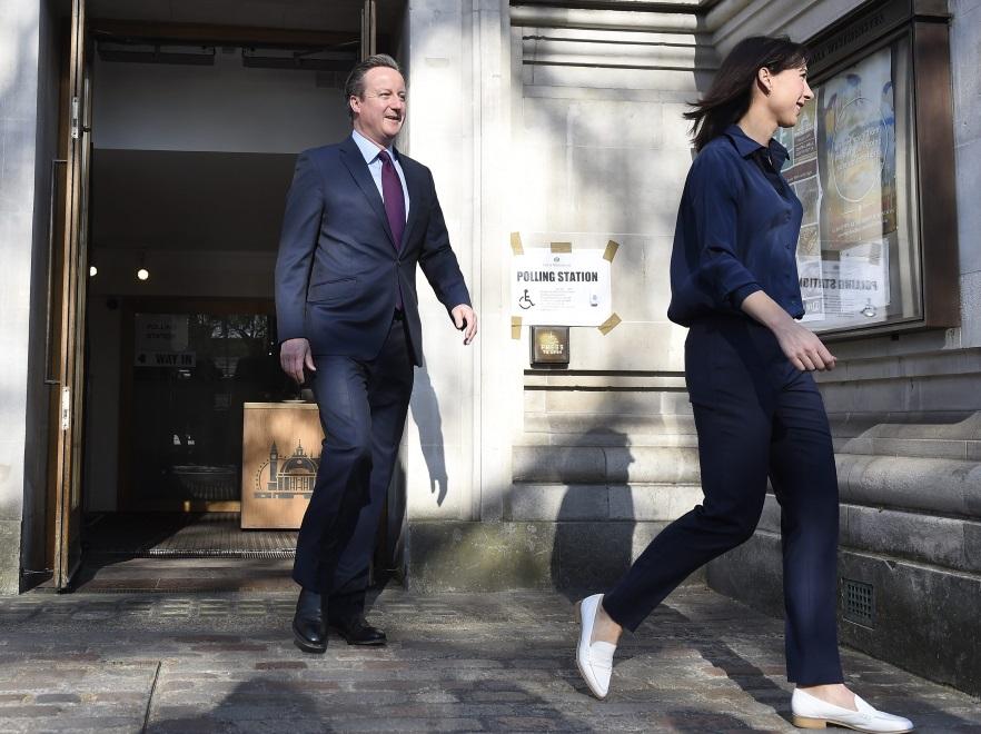 Samantha i David Cameronowie