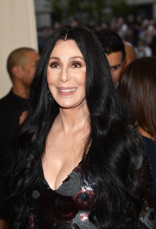 Cher na gali Met w 2015 roku