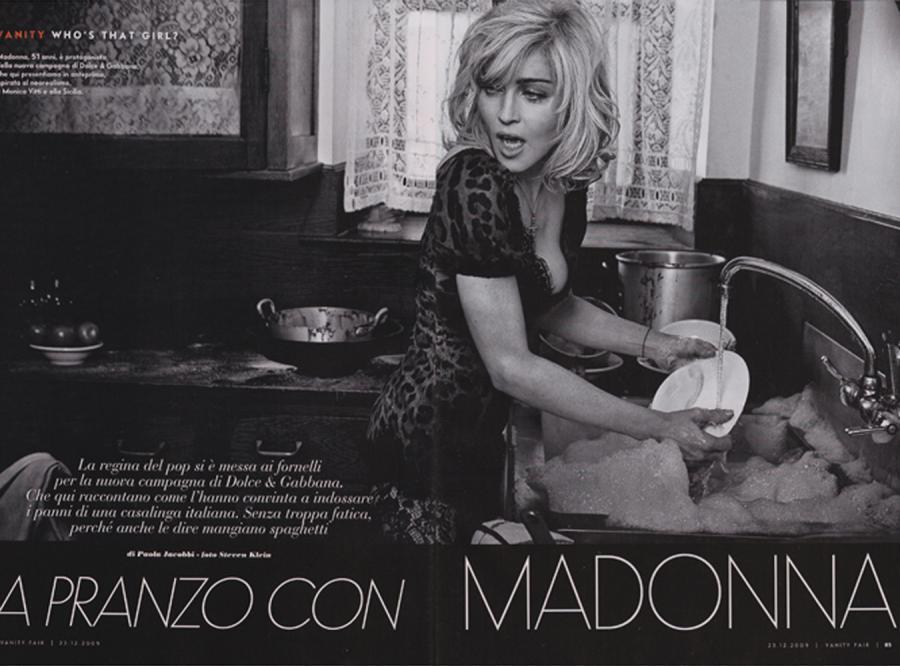 Madonna: seksowna gospodyni domowa