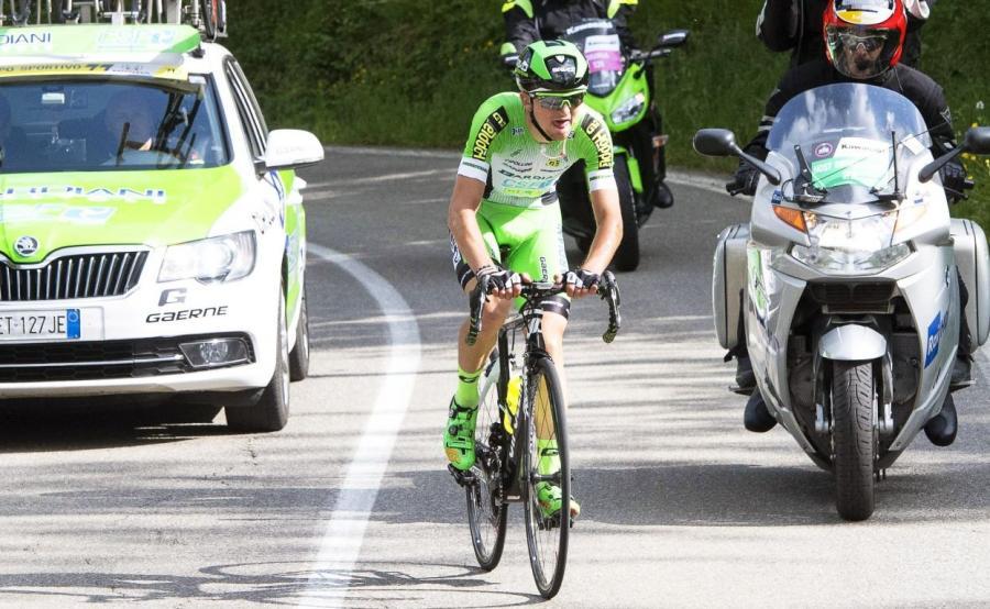 Zwycięzca etapu Giulio Ciccone