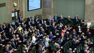 Sejm po przyjęciu uchwały