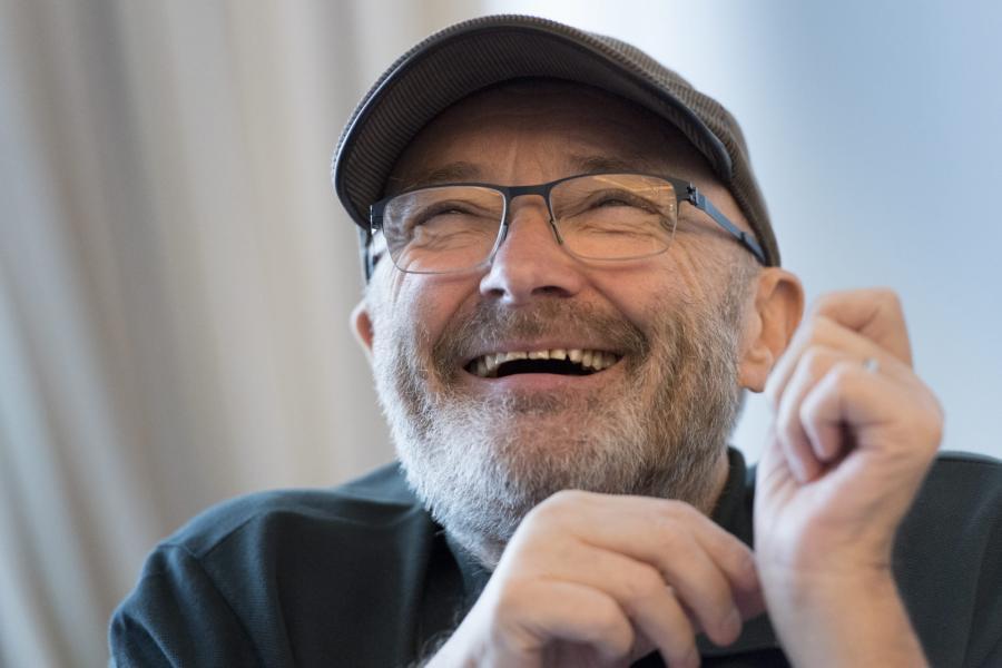 Phil Collins znów zaśpiewa dla swojej fundacji