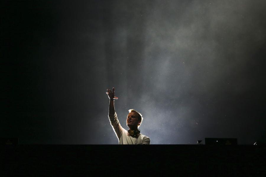 Avicii podczas występu na Rock in Rio w Lizbonie