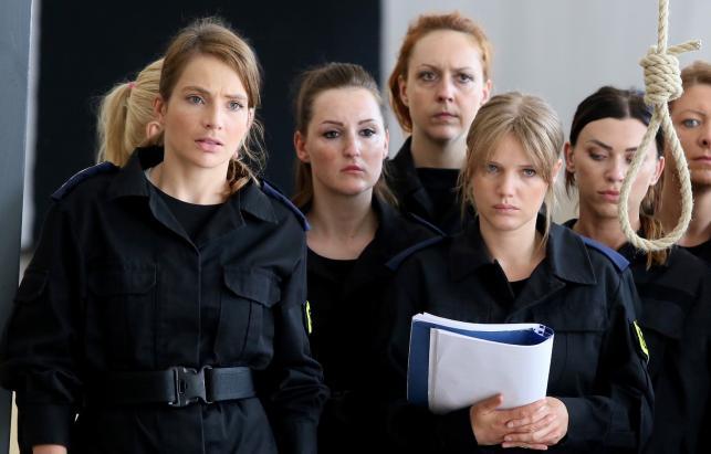Policjantki Anna Dereszowska i Joanna Kulig