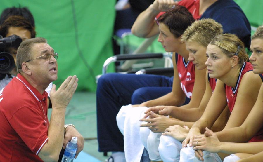Złotka wspominają swojego trenera