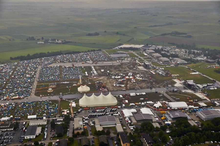 Teren festiwalu Rock am Ring