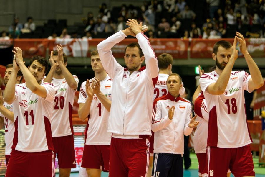 Michał Kubiak, Fabian Drzyzga, Mateusz Mika, Piotr Nowakowski, Bartosz Kurek, Mateusz Bieniek, Paweł Zatorski i Marcin Możdżonek