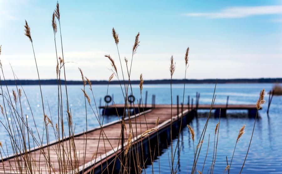 Jezioro Ładoga w Karelii