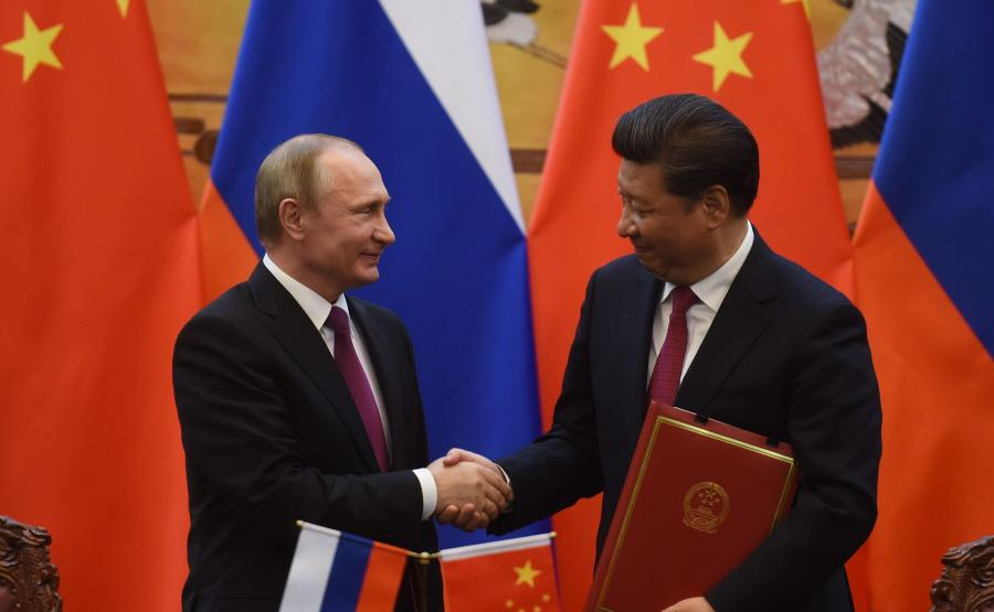 Władimir Putin i Xi Jinping
