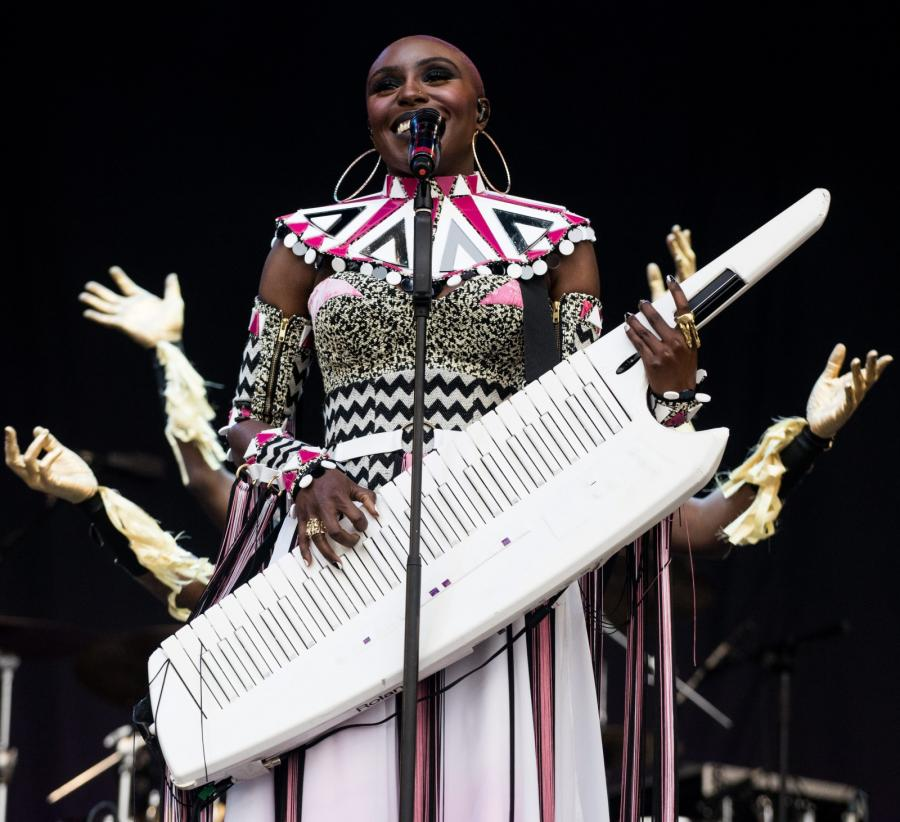 Laura Mvula na Glastonbury 2016