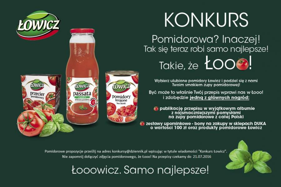 Konkurs Łowicz