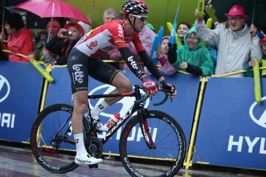 Belg Tim Wellens z grupy Lotto Soudal