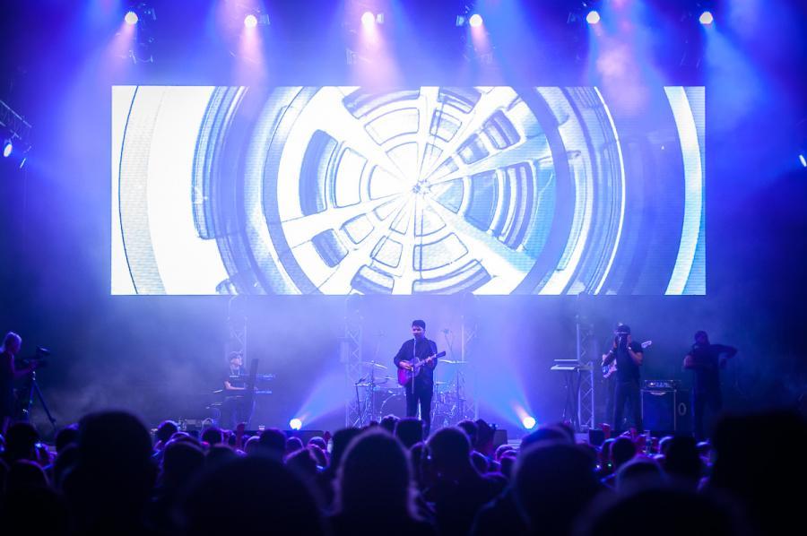 Jamie Woon na festiwalu Audioriver 2016 / fot. Audioriver