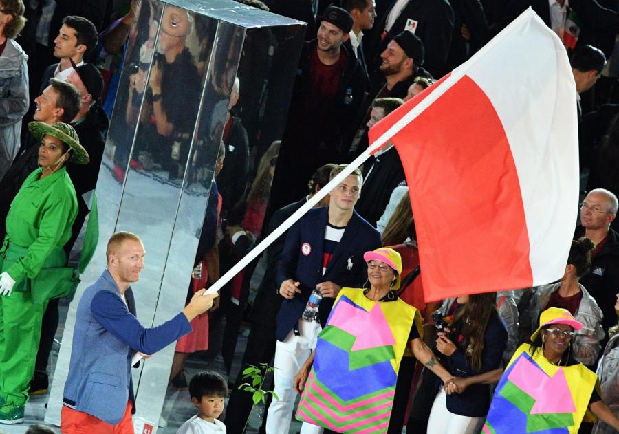 Igrzyska w Rio de Janeiro rozpoczęte. Znicz zapalił były maratończyk Vanderlei de Lima