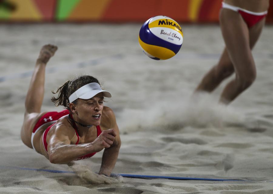 Najlepsze widoki w Rio de Janeiro? Zdecydowanie na turnieju siatkówki plażowej!
