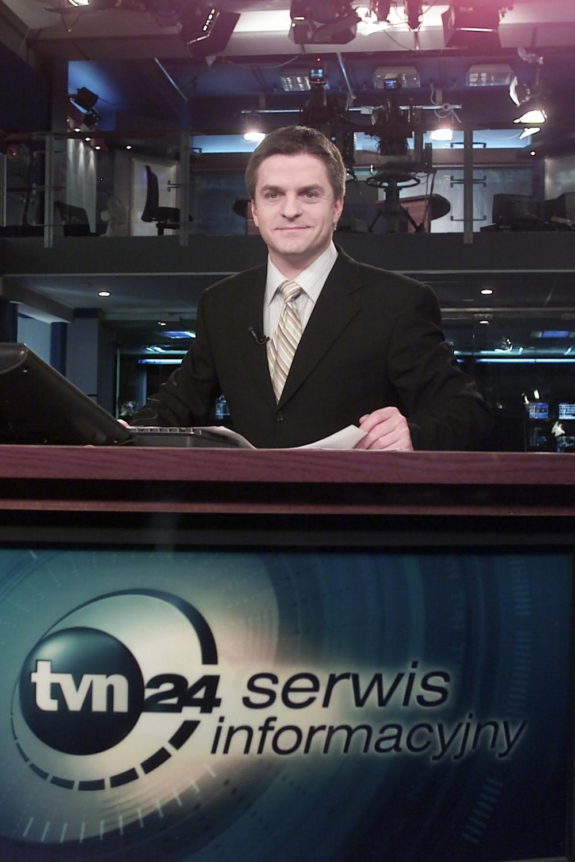 Bogdan Rymanowski w TVN24