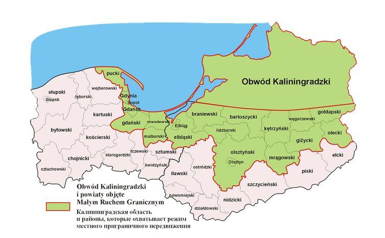 Region objęty małym ruchem granicznym
