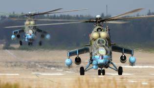 Rosyjskie śmigłowce Mi-24
