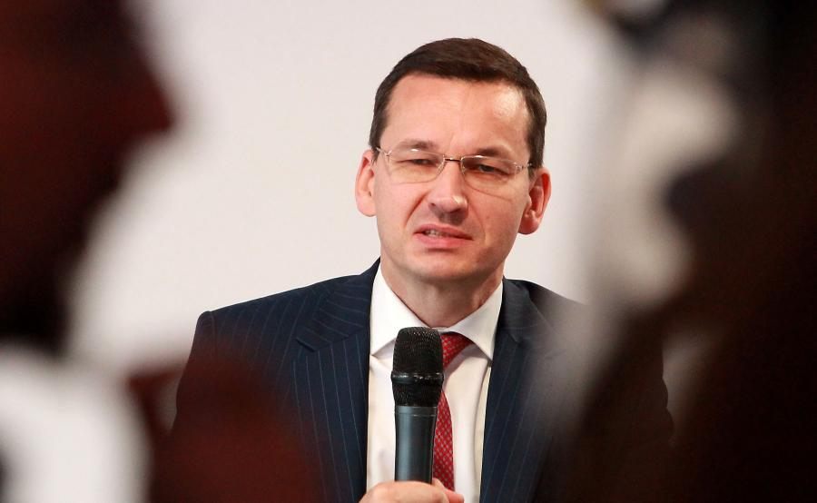 Wicepremier Mateusz Morawiecki