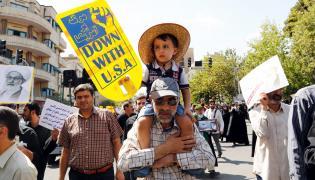 Antysaudyjska demonstracja