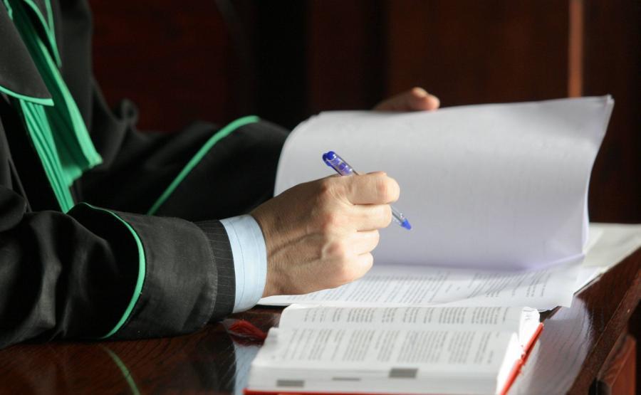 Adwokat podczas procesu