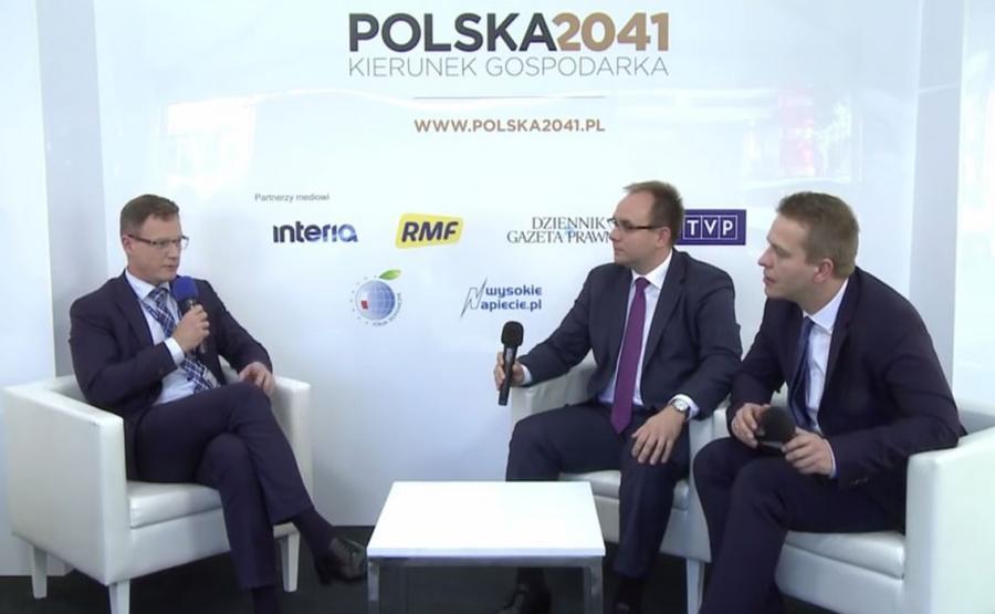 Krzysztof Krystowski na Forum Ekonomicznym w Krynicy