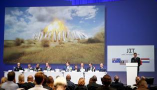Ogłaszanie raportu w sprawie zestrzelenia MH17