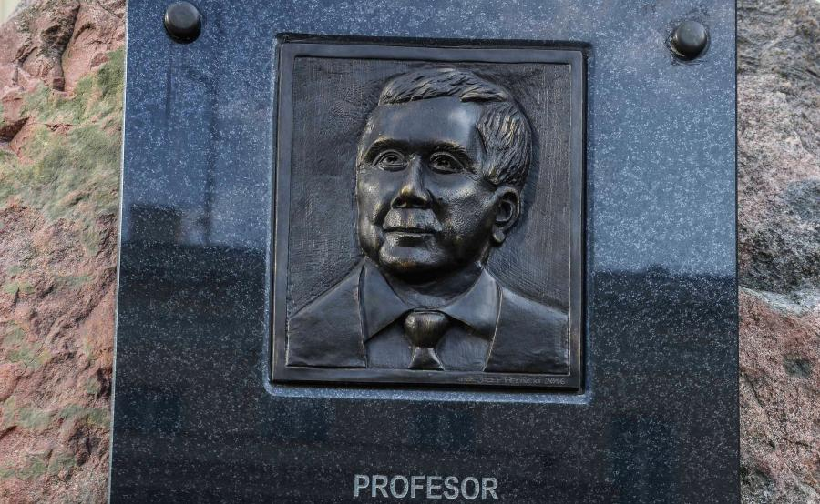 Pierwsza tablica z wizerunkiem Lecha Kaczyńskiego