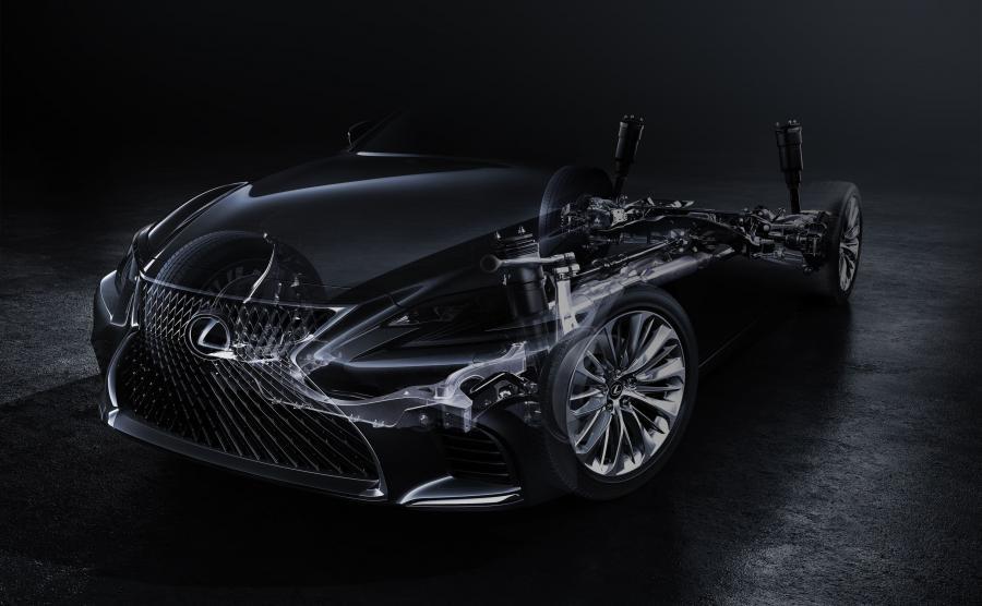 Lexus LS nowej generacji - pierwsze zdjęcie
