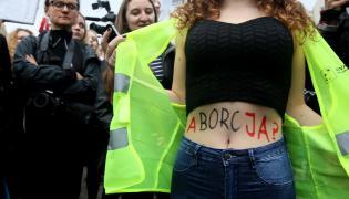 """Uczestniczki """"czarnego protestu"""""""