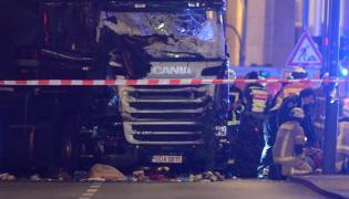 Berlin, ciężarówka