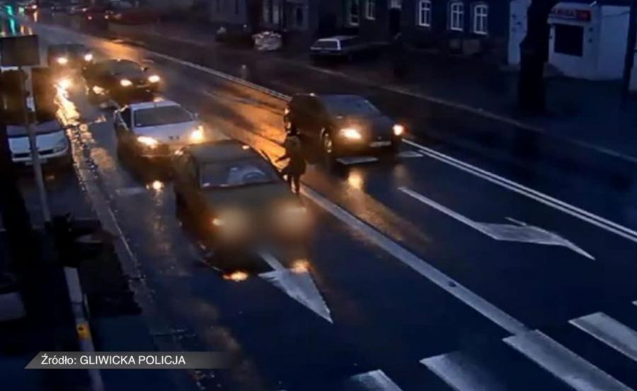 Sytuacja na drodze w Gliwicach