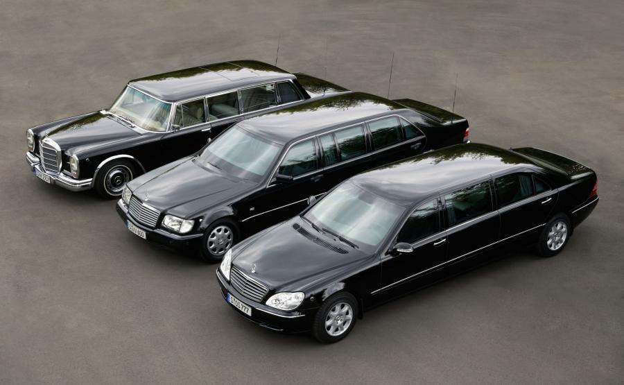 Od 1965 roku producent oferował liczne samochody zapewniające specjalną ochronę