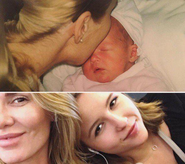 Hanna Lis z córką Julią