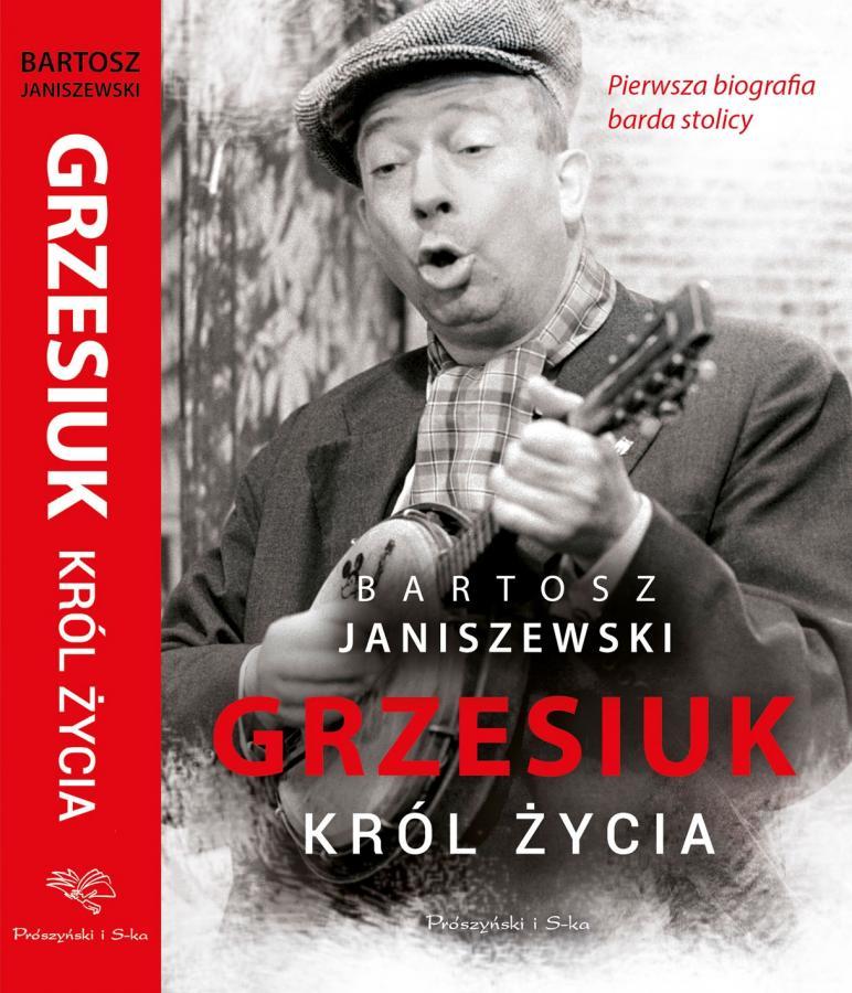 Okładka biografii Stanisława Grzesiuka