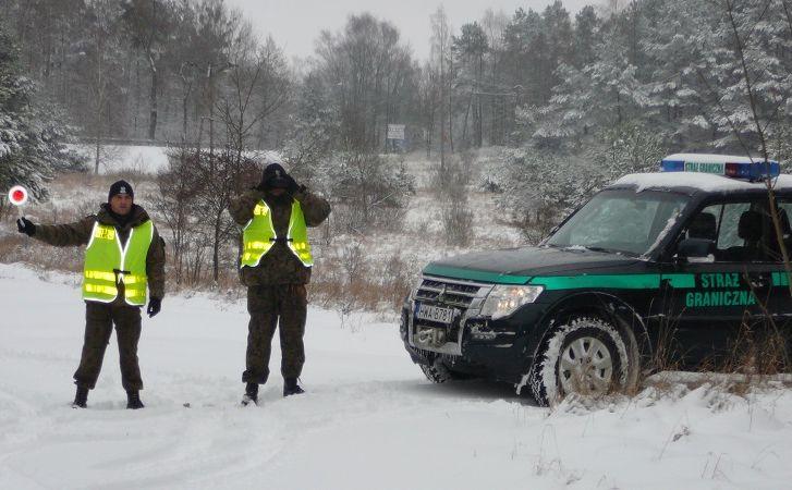 Patrol Straży Granicznej