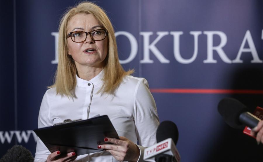 Rzecznik Prokuratury Krajowej Ewa Bialik